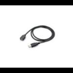 POLY 89106-01 USB cable USB 2.0 USB A Micro-USB A Black