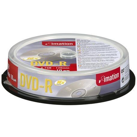 DVD-r Media 16x - 4.7GB Spindle 10-pk