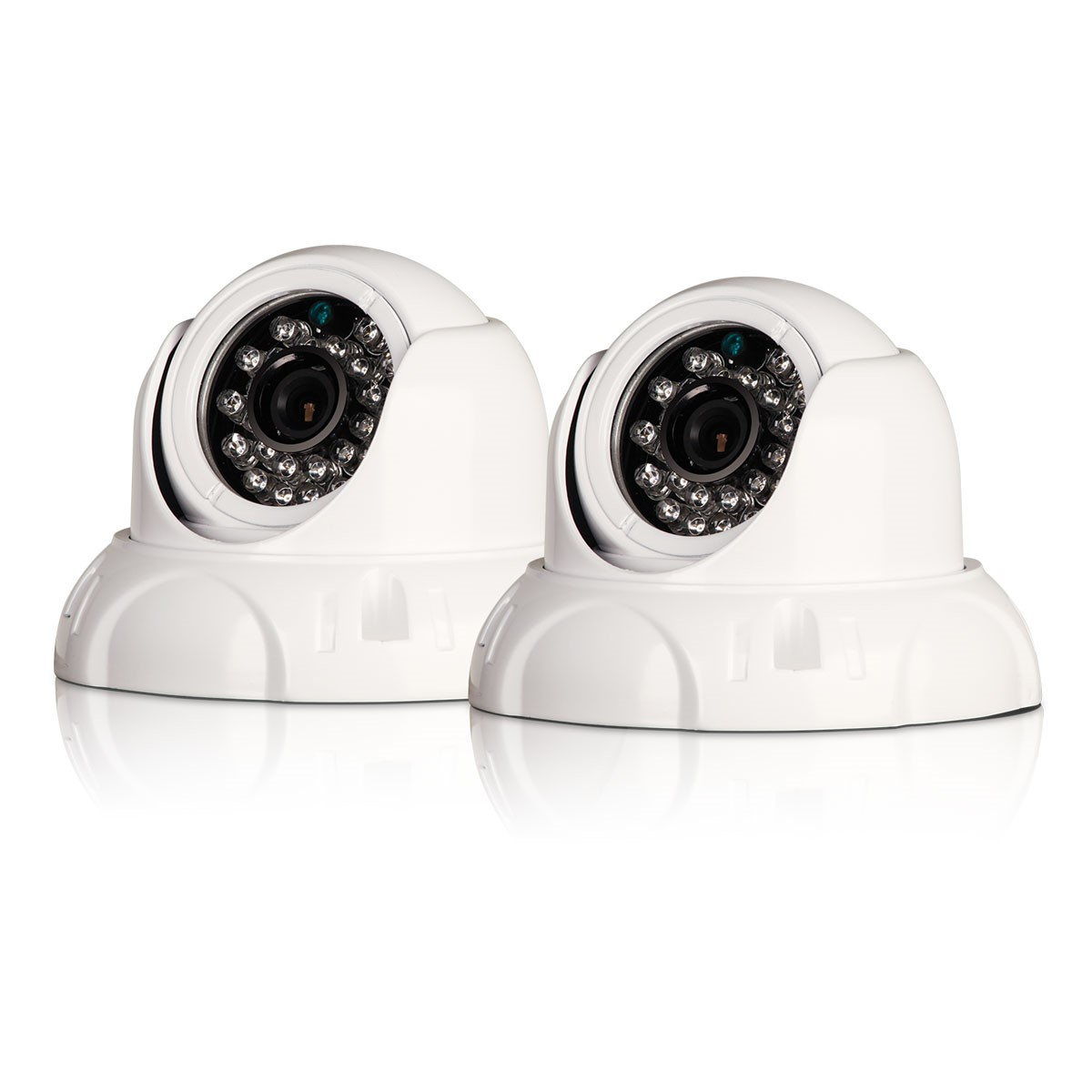 Swann PRO-736 Multi-Purpose Dome Security Camera with IR Night Vision Twin Pack