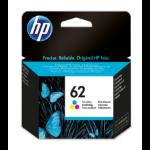 HP 62 originele drie-kleuren inktcartridge
