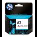 HP Cartucho de tinta original 62 tricolor