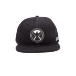 Marvel Avengers Assemble Shield Logo Snapback Baseball Cap, One Size, Dark Grey (SB097530AVG)