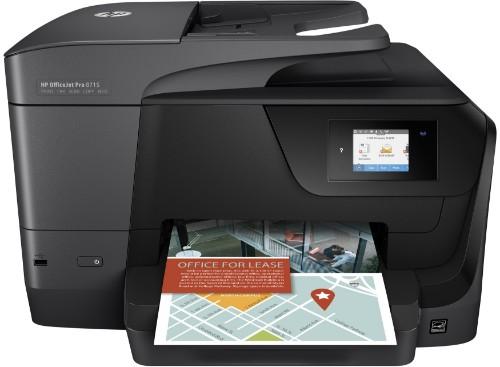 HP OfficeJet Pro 8715 4800 x 1200DPI Thermal Inkjet A4 22ppm Wi-Fi
