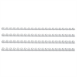 GBC CombBind Binding Combs 8mm White (100)