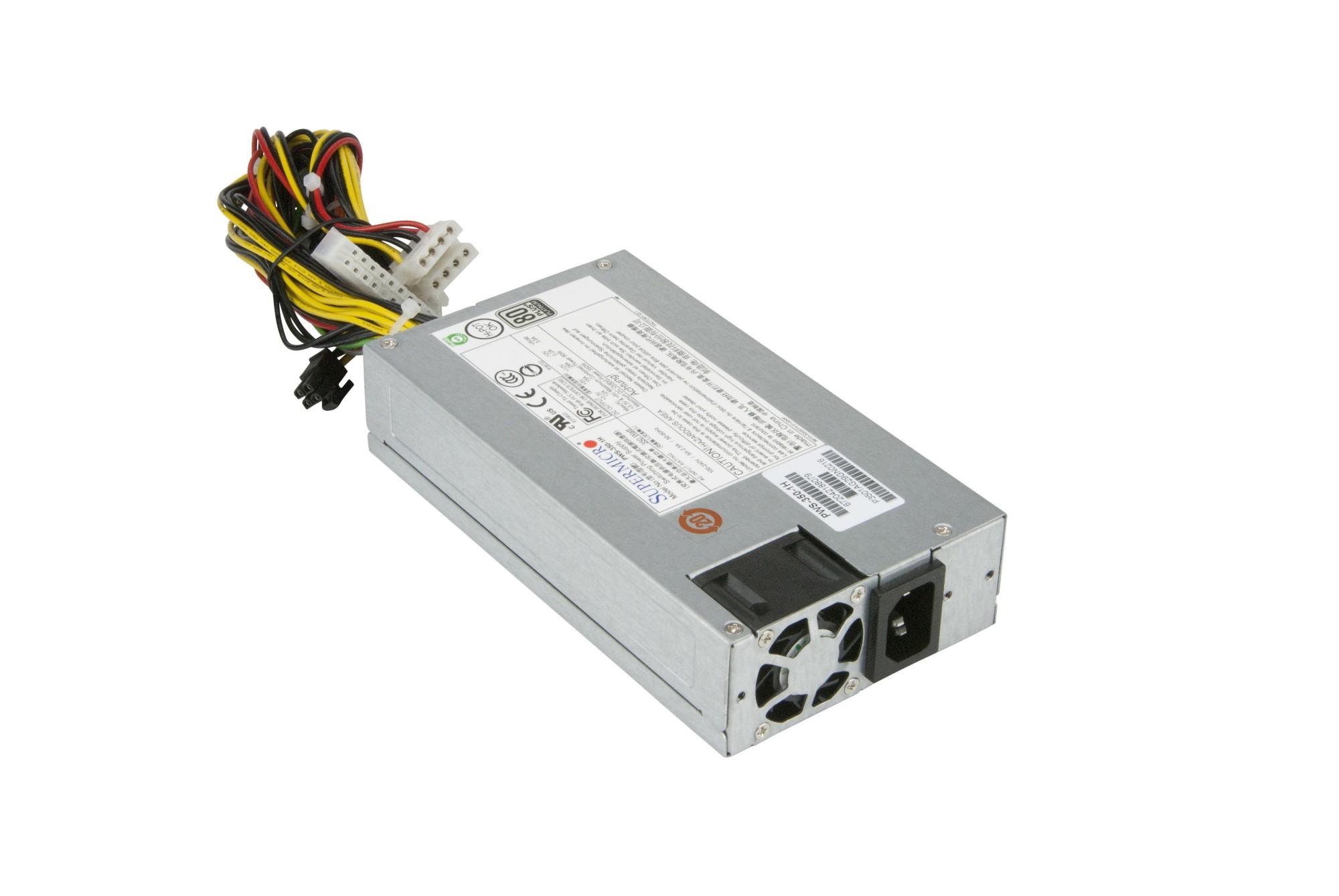 Supermicro PWS-350-1H power supply unit 350 W 1U Grey