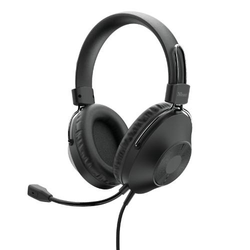 Trust Ozo Headset Head-band USB Type-A Black