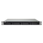 QNAP TS-463XU-RP GX-420MC Ethernet LAN Rack (1U) Black NAS