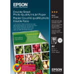 Epson Double-Sided Photo Quality Inkjet Tintendruckerpapier A4 (210x297 mm) Matt 50 Blätter