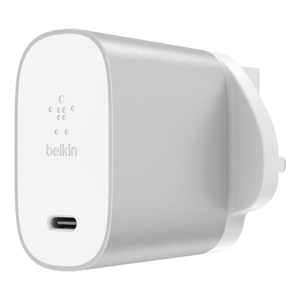 Belkin F7U060MY-SLV mobile device charger Indoor Silver,White
