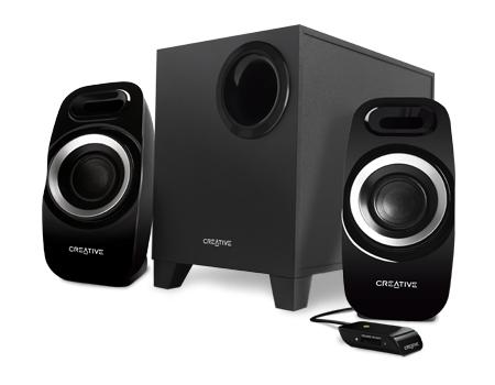 Creative Labs Inspire T3300 2.1channels 27W Black speaker set