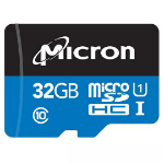 Micron Industrial memory card 32 GB MicroSDHC Class 10 UHS-I