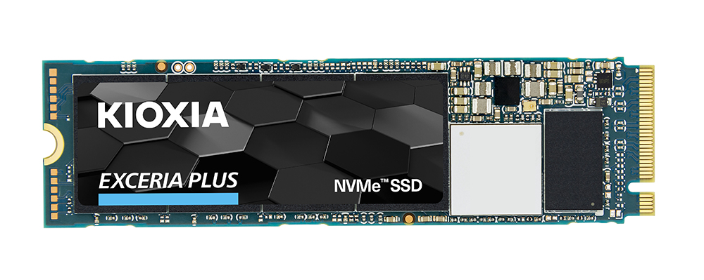Kioxia EXCERIA PLUS M.2 500 GB PCI Express 3.1a TLC NVMe