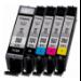 Canon PGI-570/CLI-571 PGBK/C/M/Y/BK cartucho de tinta 5 pieza(s) Original Rendimiento estándar Foto negro, Fotos cian, Negro, Amarillo para impresión de fotografías, Foto magenta