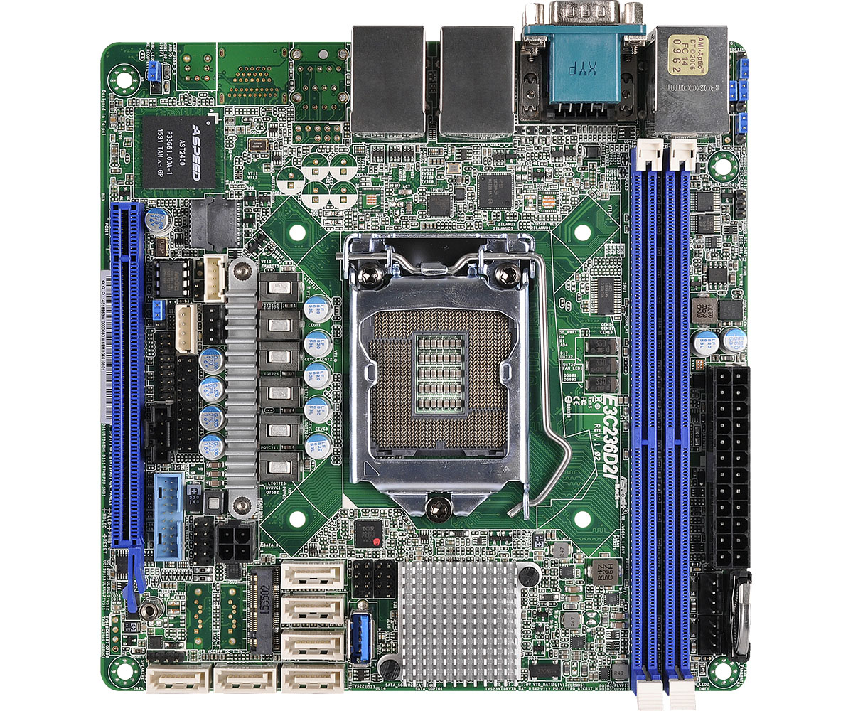 Asrock Mainboards Intel C236 Mini ITX server/workstation motherboard