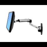 "Ergotron LX Wall Mount LCD Arm 86.4 cm (34"") Aluminium"