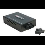 Lindy SC Fibre Optic Converter network media converter 100 Mbit/s