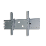 "Newstar TV/Monitor Wall Mount (tiltable) for 37""-85"" Screen - Silver"