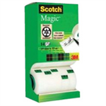 Scotch 3M SCOTCH MAGIC TAPE 19MMX33M PK12