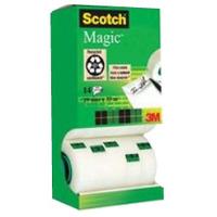 Scotch 3M SCOTCH MAGIC TAPE 19MMX33M PK12