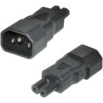 Cablenet IEC Male C14 - Figure of 8 C7 Power Adaptor
