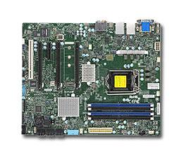 Supermicro X11SAT-F server/workstation motherboard LGA 1151 (Socket H4) ATX Intel® C236