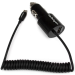 StarTech.com Dual-Port Car Charger - USB with Built-in Micro-USB Cable - Black
