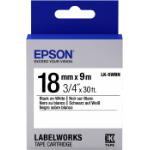 Epson LK-5WBN labelprinter-tape