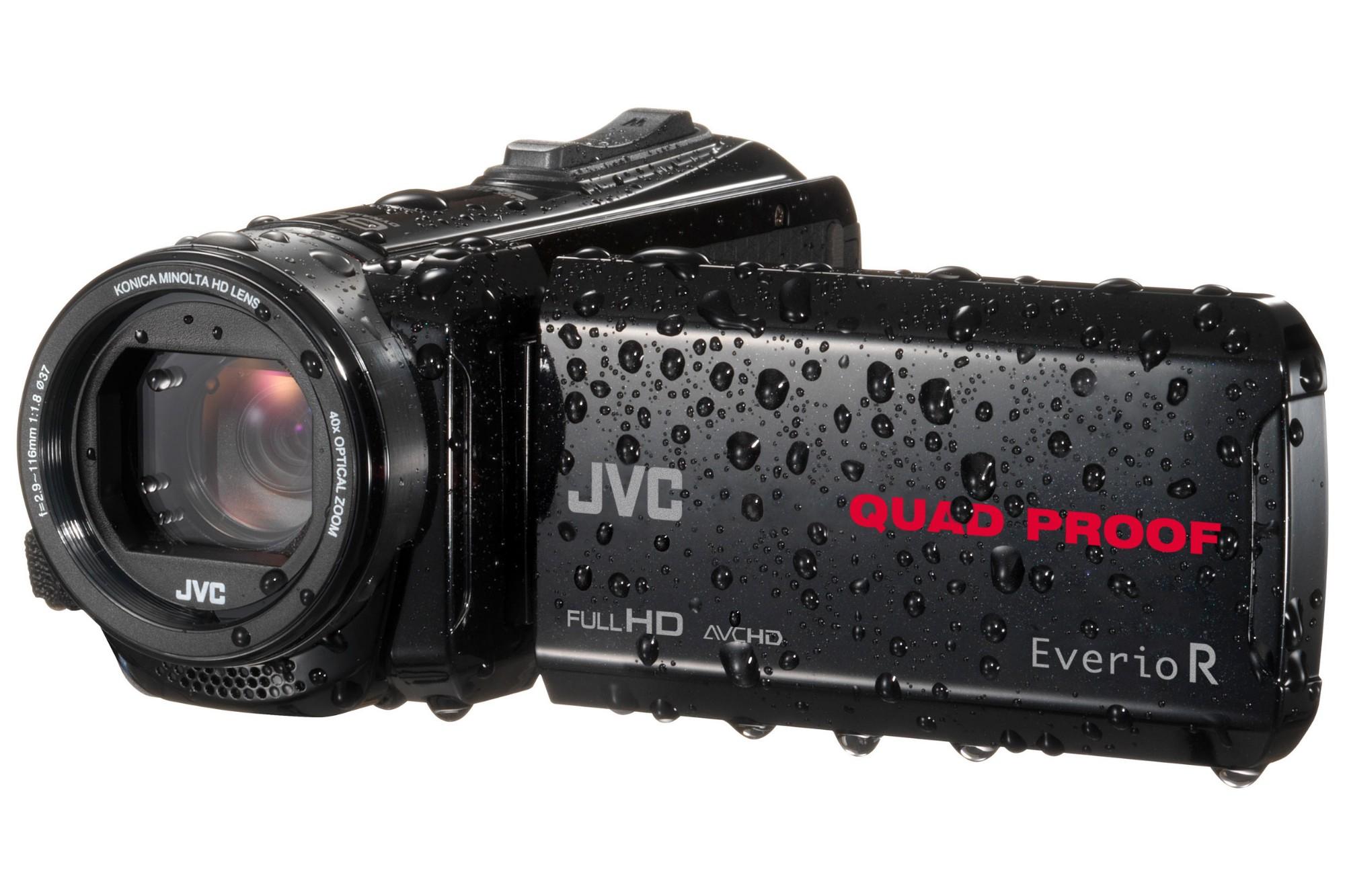 JVC EverioR GZ-R435BEK Digital Camcorder