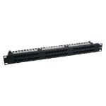 Tripp Lite N252-048-1U 48-Port 1U Rack-Mount Cat6/Cat5 High Density 110 Patch Panel, 568B, RJ45 Ethernet, TAA