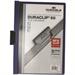 Durable Duraclip 60 report cover Blue,Transparent PVC