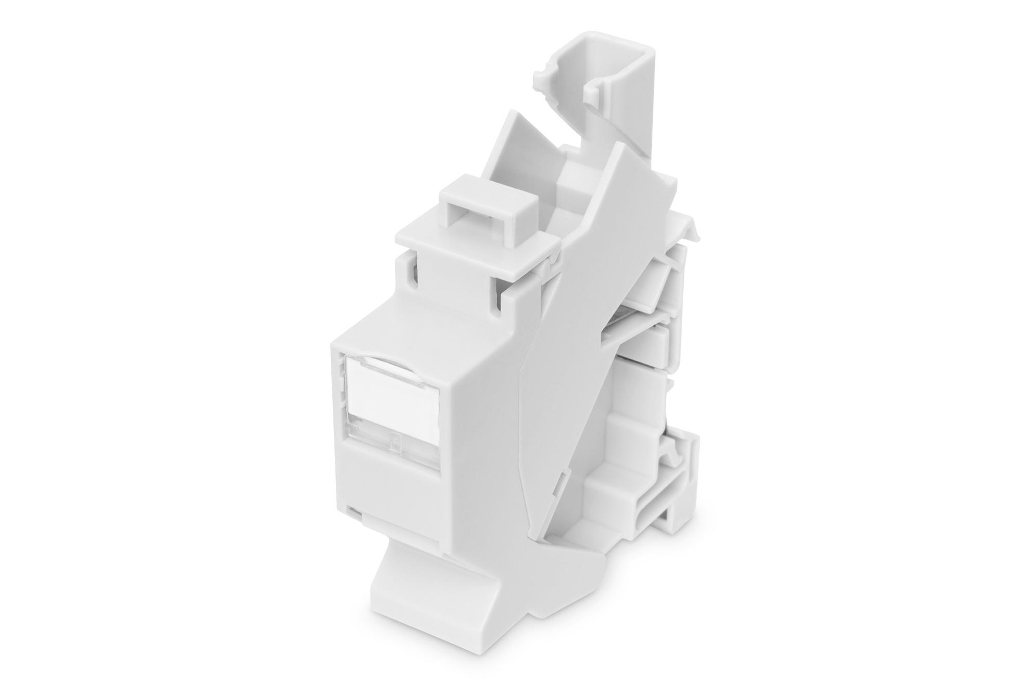 Digitus DIN-Rail Adapter for 1x Keystone Module, IP20