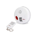 Proper Motion Ceiling Alarm Inc Remote Passive infrared (PIR) sensor Wireless Ceiling/wall White