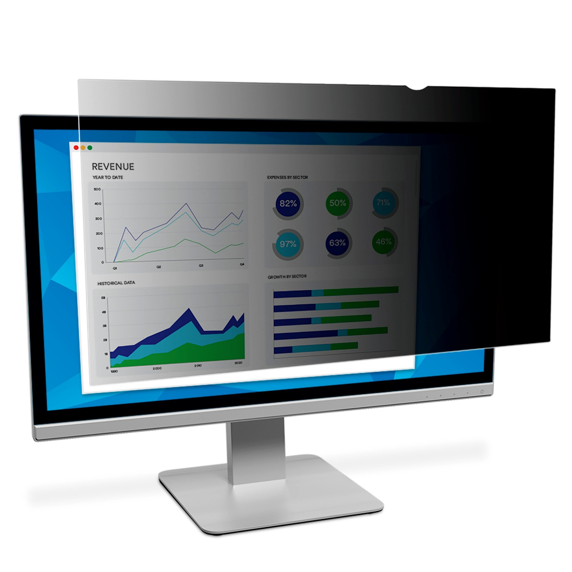 LCD Privacy Filter Pf28.0w 28in For Desktop Displays