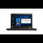 "Lenovo ThinkPad P73 Black Mobile workstation 17.3"" 1920 x 1080 pixels 9th gen Intel® Core™ i7 16 GB DDR4-SDRAM 512 GB SSD Windows 10 Pro"