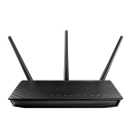 ASUS RT-AC66U wireless router Gigabit Ethernet Dual-band (2.4 GHz / 5 GHz)