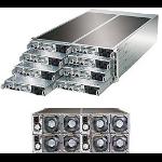Supermicro SuperServer F618R2-FC0 Intel® C612 LGA 2011-v3 Rack (4U) Black