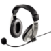 Hama AH-100 Headset Head-band Black,Silver