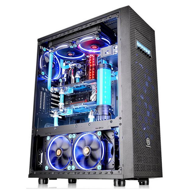 Thermaltake Core X71 TG Edition Full-Tower Black