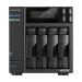 Asustor AS6604T NAS/storage server Ethernet LAN Black J4125