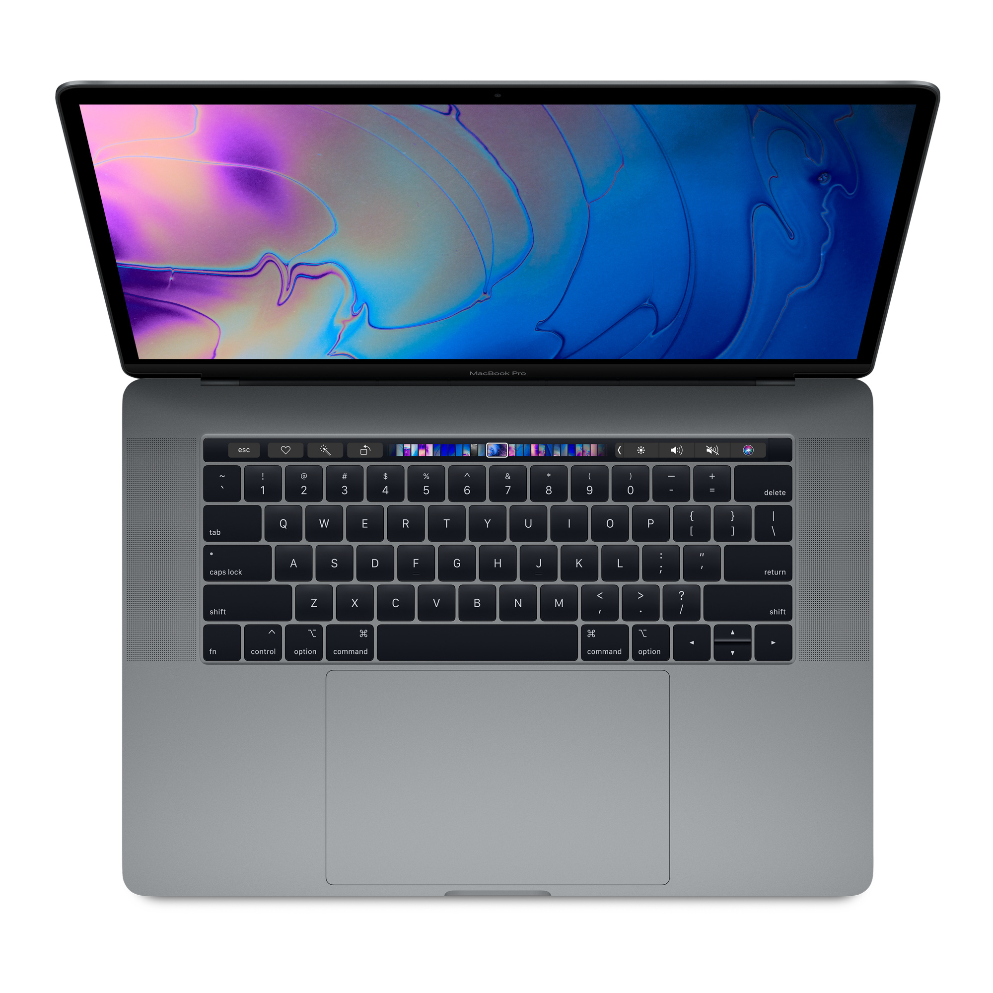 MacBook Pro - 15in - i7 2.2GHz - 16GB Ram - 256GB SSD - Touch Bar And Touch Id - Radeon Pro 555x With 4GB Gddr5 - Space Gray - Qwerty Uk