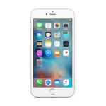 "Apple iPhone 6s Plus 5.5"" Single SIM 4G 128GB Gold"