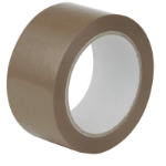 Robinson Young Value Buff Packaging Tape 48mmx66m PK6