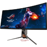 "ASUS PG349Q computer monitor 86,7 cm (34.1"") UltraWide Quad HD LED Gebogen Koper, Titanium"