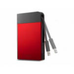 Buffalo MiniStation Extreme USB 3.0 1TB 1000GB Black, Red external hard drive
