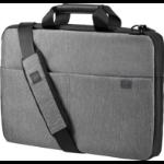 "HP 39.62 cm (15.6"") Signature Slim Topload Case Notebooktasche 39,6 cm (15.6 Zoll) Aktenkoffer Grau"