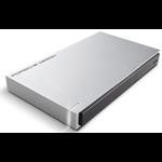 LaCie 9000461 2000GB Aluminium external hard drive