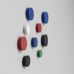Nobo Magnets 20mm Assorted (10)