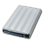BUSlink Disk-On-The-Go 320GB external hard drive Stainless steel