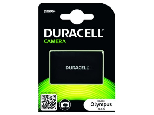 Duracell Camera Battery - replaces Olympus BLS-5 Battery
