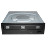 Lite-On iHAS122 Internal DVD±RW Black,Stainless steel optical disc drive